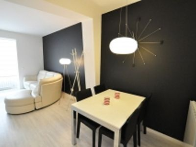 Photo for Renovated, bright, steps from the beach, 4 people, WIFI
