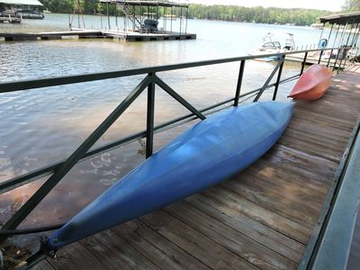 Photo for Lakefront Cottage , 2 night Clemson Football Weekends, 4 Bdrm, Kayaks