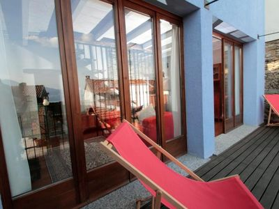 Photo for Exceptional 3½-room apartment in a renovated rustico