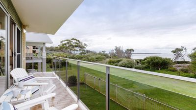 Photo for The Helm, 2/22 Voyager Cl - Stunning waterfront unit with Air Conditioning