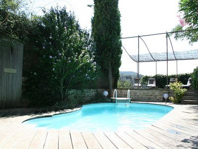 Photo for Les Lavandes, Charming cottage with air conditioning for 2 people