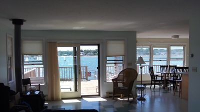 Photo for Spectacular Oceanfront Beach House. Relaxing Views, Direct Water/Swim Access
