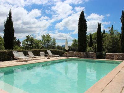 Photo for Charming Provençal house 'La Boussone' in the heart of Provence