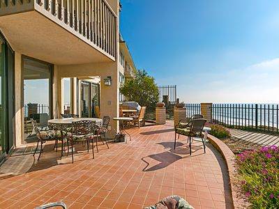 Sea Forever - Oceanfront Condo with AC and Huge Patio