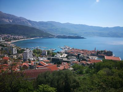 Photo for Breathtaking view apartment Budva