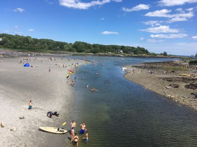 CAPE NEDDICK RIVER AND CHILD FRIENDLY PASSACONWAY BEACH 1/4 MILE