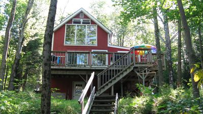 Photo for Beautiful, Family Friendly Lakeside Cabin in the Woods