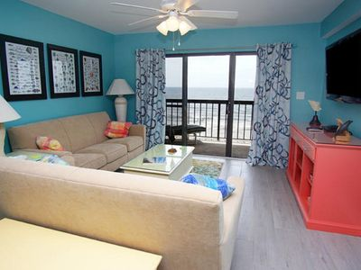 Photo for Sea Marsh II 503, Beautifully Decorated 3 BR Condo with an Indoor Pool and Spectacular Ocean Front Views