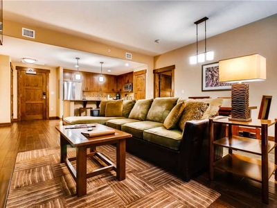 Photo for Charming Mtn Condo for Summer with Private Balcony, W/D & Onsite Pool!