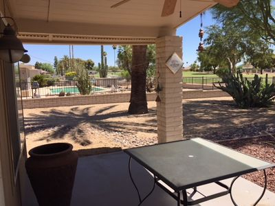 Photo for Sun City Seasonal Rental  $3000 / 2br Plus Den- 2000SF Golf Course Fenced