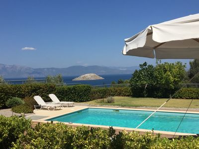 Photo for Villa Skorponeria luxury - next to the sea, close to Athens!