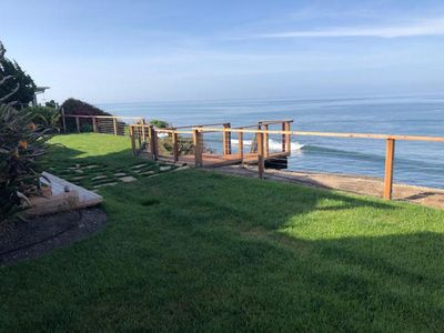 Photo for Spectacular Oceanfront Home with Private Beach Access