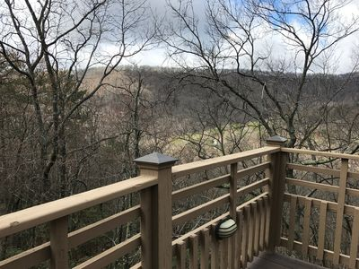 Photo for Newly Furnished in Big Canoe with 2-Tier Mountain Views - No Cleaning Fee!