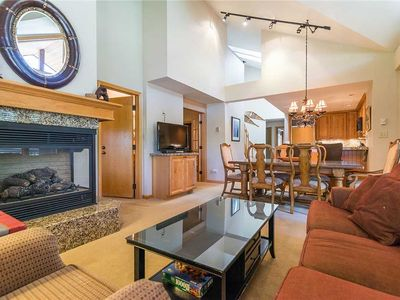 Photo for TR1310 Mountain Condo, Vaulted Ceilings! Beautiful Views Winter Specials