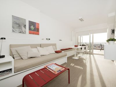 Photo for Knokke Penthouse contemporary - large terrace facing south max 3 pers.