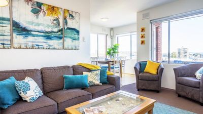 Photo for Manly Beach Pad is a bright and beachy 2 b/r apartment with Manly Beach views