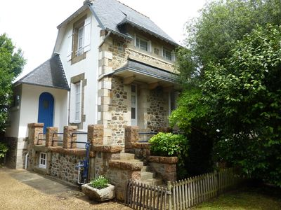 Photo for Pretty house of character, very well placed at 500m from the beach in PERROS-GUIREC