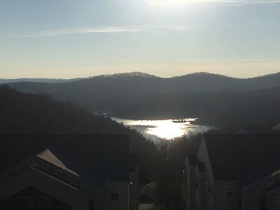 Photo for Best Value Panoramic Table Rock Lake View Near Silver Dollar City!