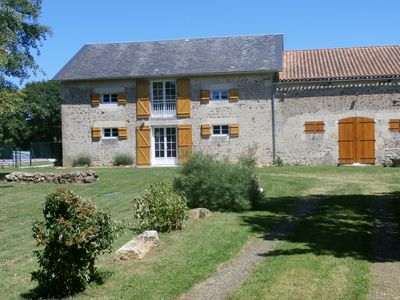 Photo for 3BR Barn Vacation Rental in Saint-Savin, Nouvelle-Aquitaine