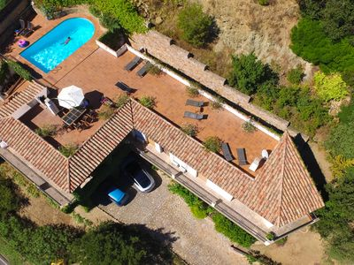 Villa Begur, plenty of space for 13 people to relax and have fun