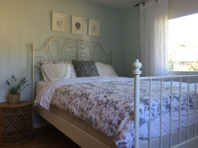 Photo for Charming, sunny, open & clean!  Walk to downtown & beach