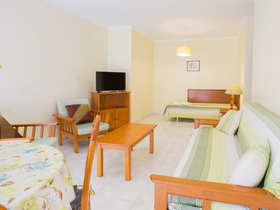 Photo for Sweet Home XXI - Paraíso da Rocha-One Bedroom Apartment with Pool