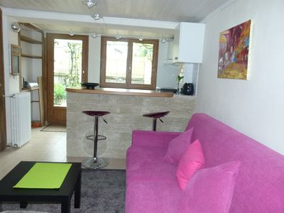 Photo for pretty furnished studio and terrace cure or holidays
