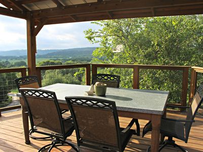 Photo for Coolview Cabin- Historic Hillside Retreat on 10 Scenic Acres!