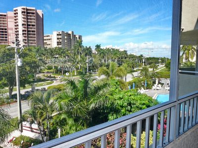 Photo for Ideally located condo w/ heated pool & short walk to beach