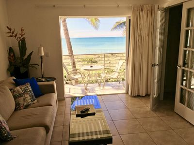 Photo for ~ DIRECT BEACH FRONT CONDO * SPECIALS * Aug - Sep