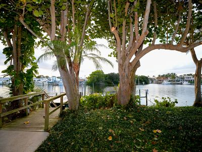 """Photo for """" The Heron"""" Luxury direct waterfront vacation rental."""