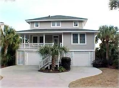 Photo for Beautiful Waterfront Canal Home with Dock Close to Golf Course
