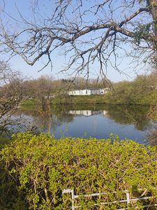 Photo for Luxury 3 bedroom caravan lake view 38ft x 12ft central heating double glazed