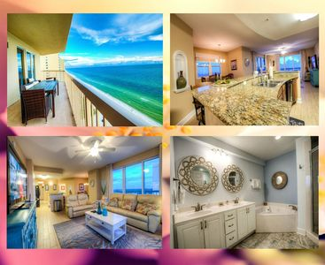 Photo for Spectacular End Unit With Amazing Views and Amenities Right on The Sand At Sunrise Resort by ZIA!
