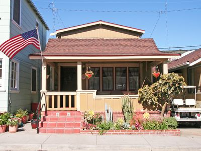 Photo for Quaint Cottage in Avalon, Arts & Crafts Style, Charming Front Porch, A/C