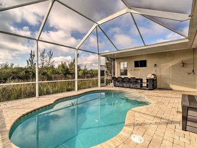 Photo for NEW! Canalfront Home w/ Saltwater Pool & Dry Bar!