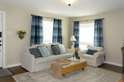 Cozy and inviting place to hang out with family and friends