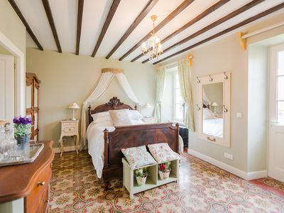 Photo for The Old Farm of Amfreville is a tranquil beautifully renovated 18th century farm