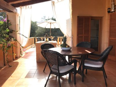 Photo for Fantastic finca / holiday home in Cala Llombards in the southeast of Mallorca
