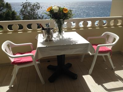 Photo for Very nice apartment located in quiet with beautiful views of the ocean