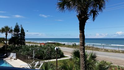 Photo for Quiet Oceanfront Condo, 2 Bed / 2 Bath, Steps To The Beach