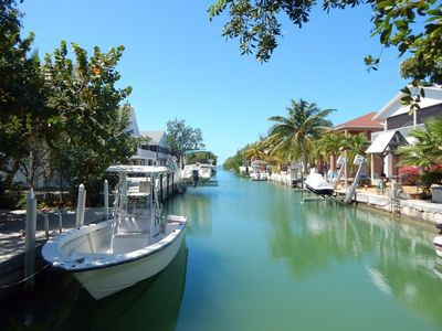 Photo for 3 bed/2 bath boating retreat close to open water on Cudjoe Key