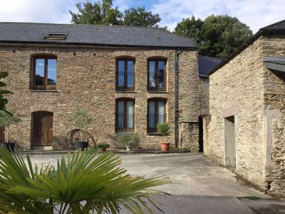Photo for MIXIT COTTAGE, romantic, with pool in Kingsbridge, Ref 976268