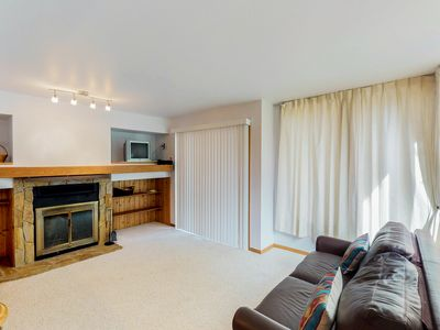 Photo for NEW LISTING! Cozy condo w/easy access to hiking & skiing - dogs welcome!