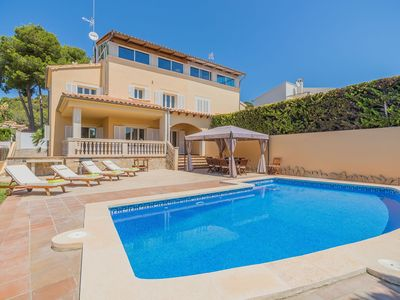 Photo for This 5-bedroom villa for up to 10 guests is located in Alcudia and has a private swimming pool, air-