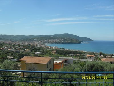 Photo for Breathtaking view of the Gulf of Agropoli with a view of the island of Capri