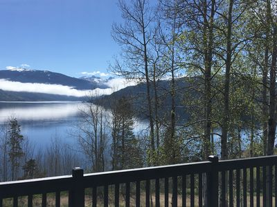 Photo for Incredible Lake Granby views - full summer rental