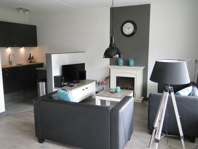 Photo for Cozy 4p apartment in Westkapelle by the sea
