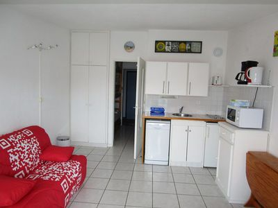Photo for Studio for 4 people just a step from beaches of Lacanau océan
