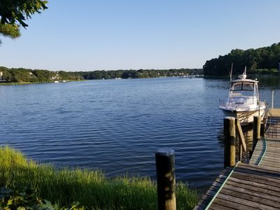 Photo for Price drop for last summer weeks -Waterfront with Dock in New Seabury area